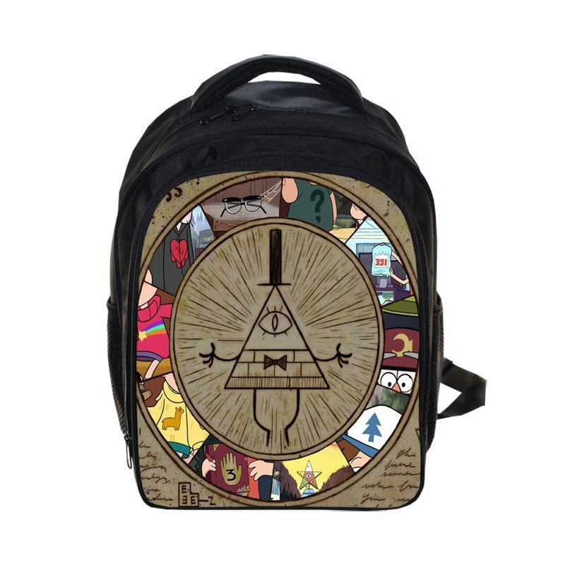 ce2bf6b3d5 Gravity Falls Five Nights at Freddys School Book Backpack bag color print  child teen youth adult