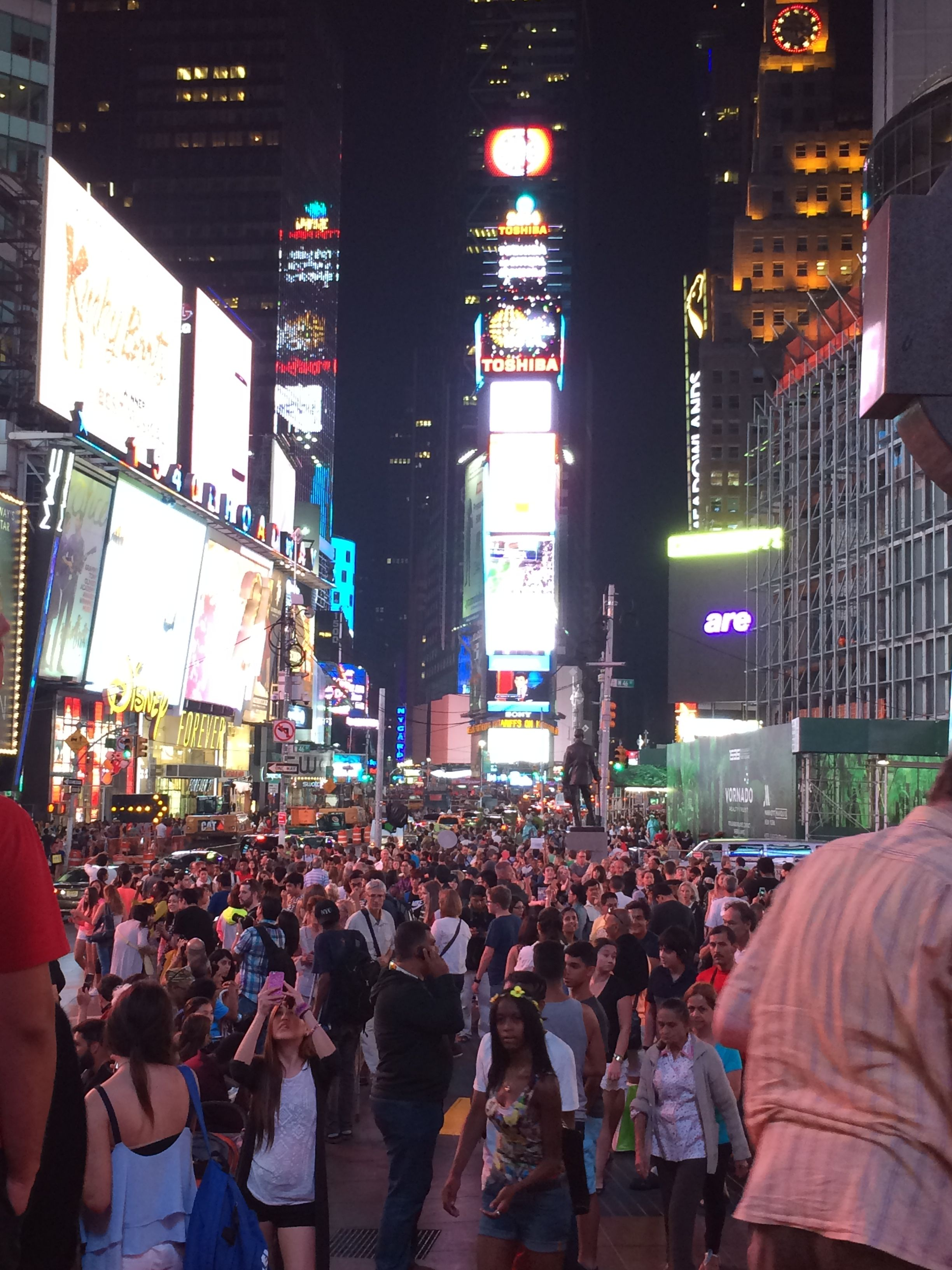 Times Square, NYC. July 2014