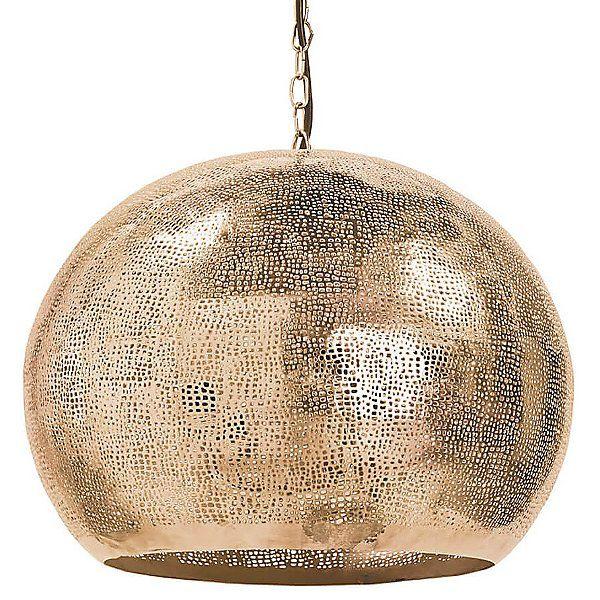 Pierced Metal Sphere Pendant Light Sphere Pendant Light Large Pendant Lighting Pendant Light