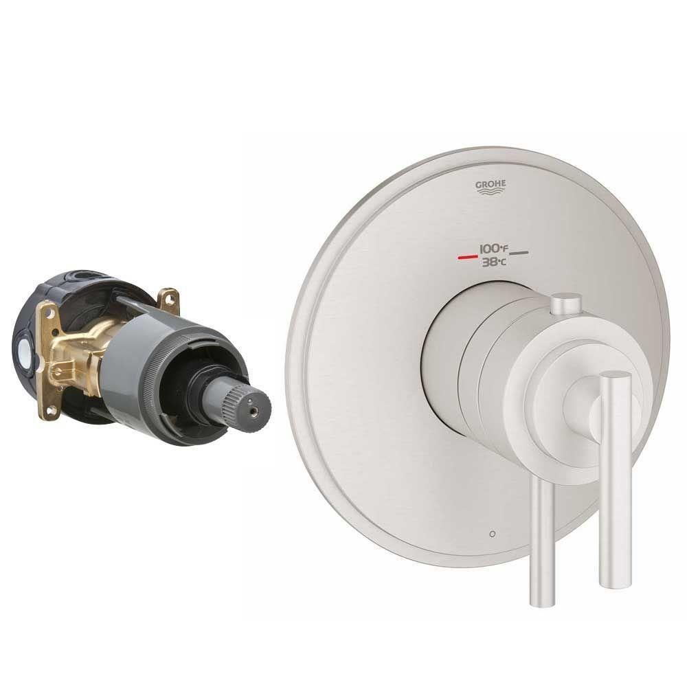 Grohe Atrio Single Function Thermostatic Trim With Control Module