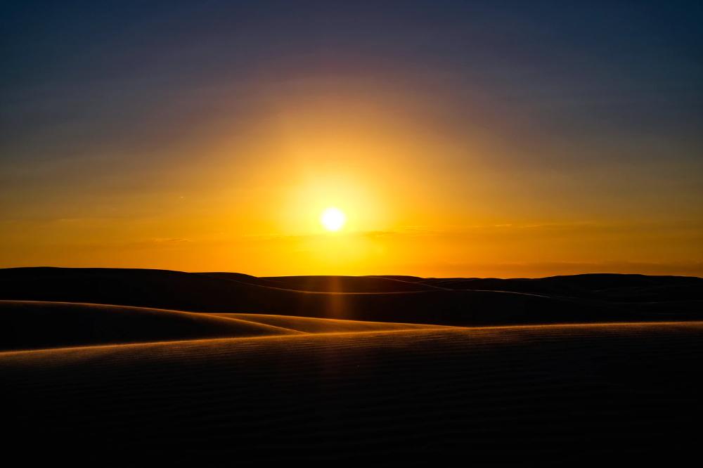 Desert During Golden Hour Photo Free Sun Image On Unsplash Travel Activities Australia Best Sunset