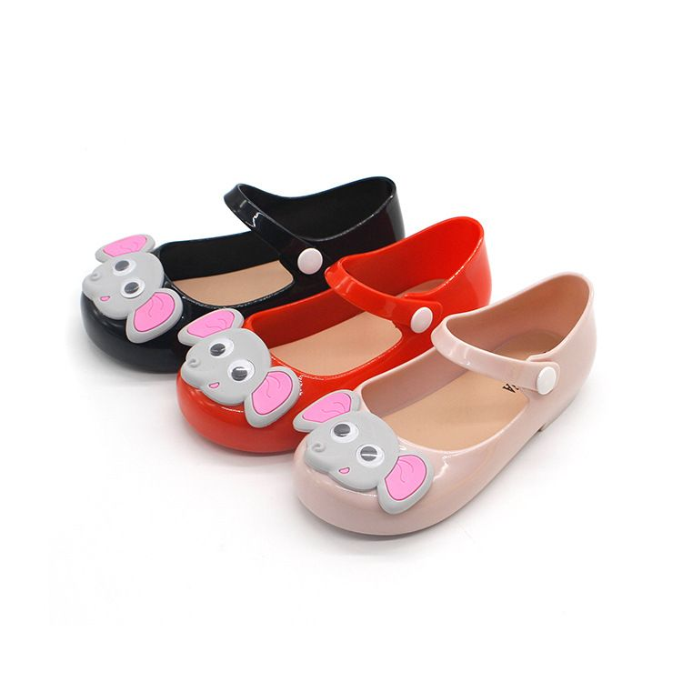 4344152b05ad Girls Sandals Summer Beauty Cartoon animal Mini Melissa Girls Shoes Jelly  Sandal