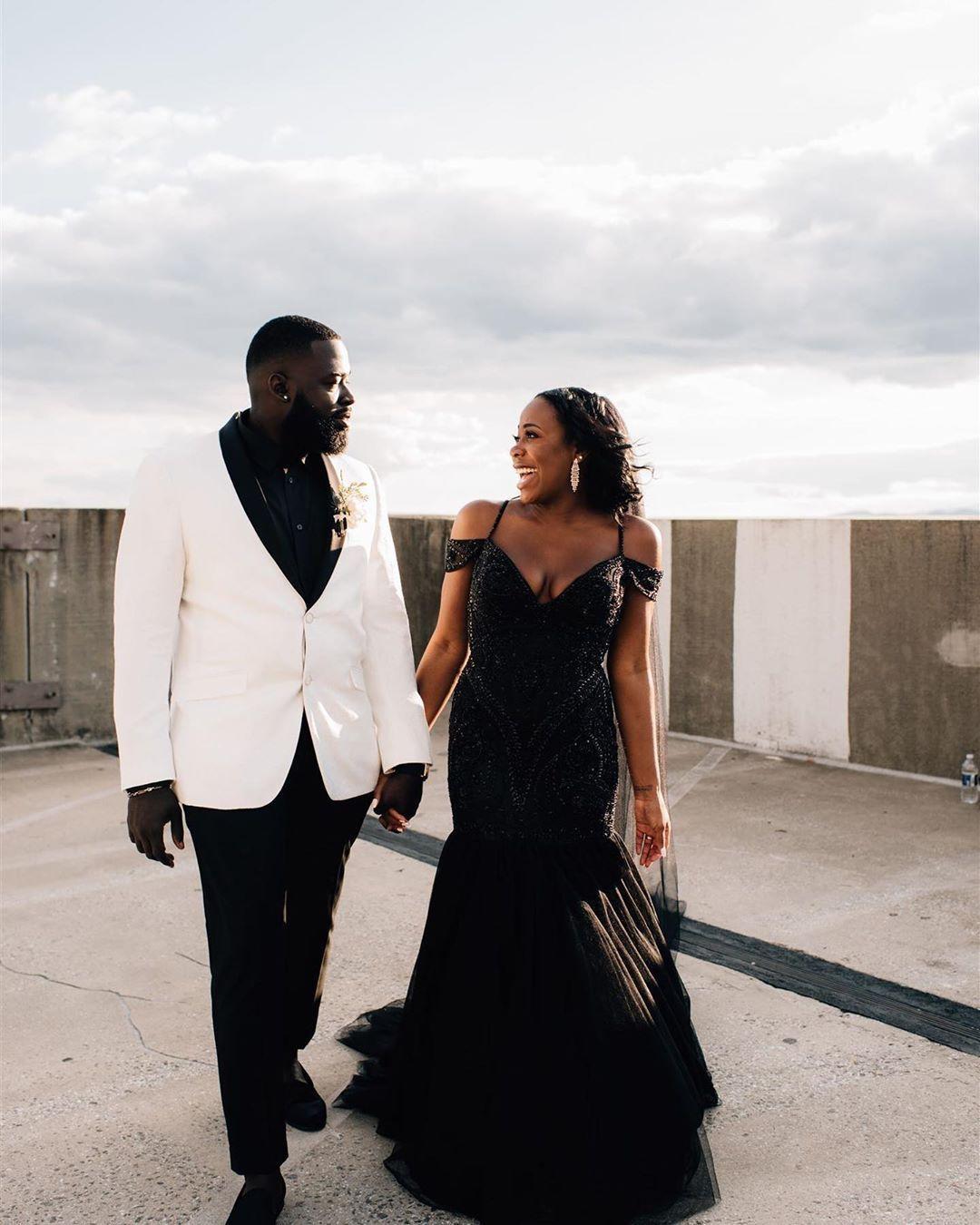 Halloween Party Asheville 2020 Black Wedding Dress   Asheville Elopement   Offbeat Wedding in