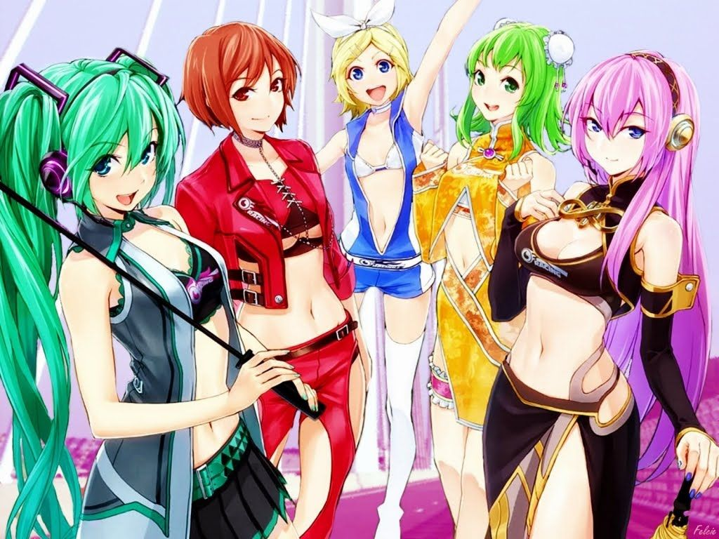 Vocaloid Girls Names   File Name : Anime wallpaper ...