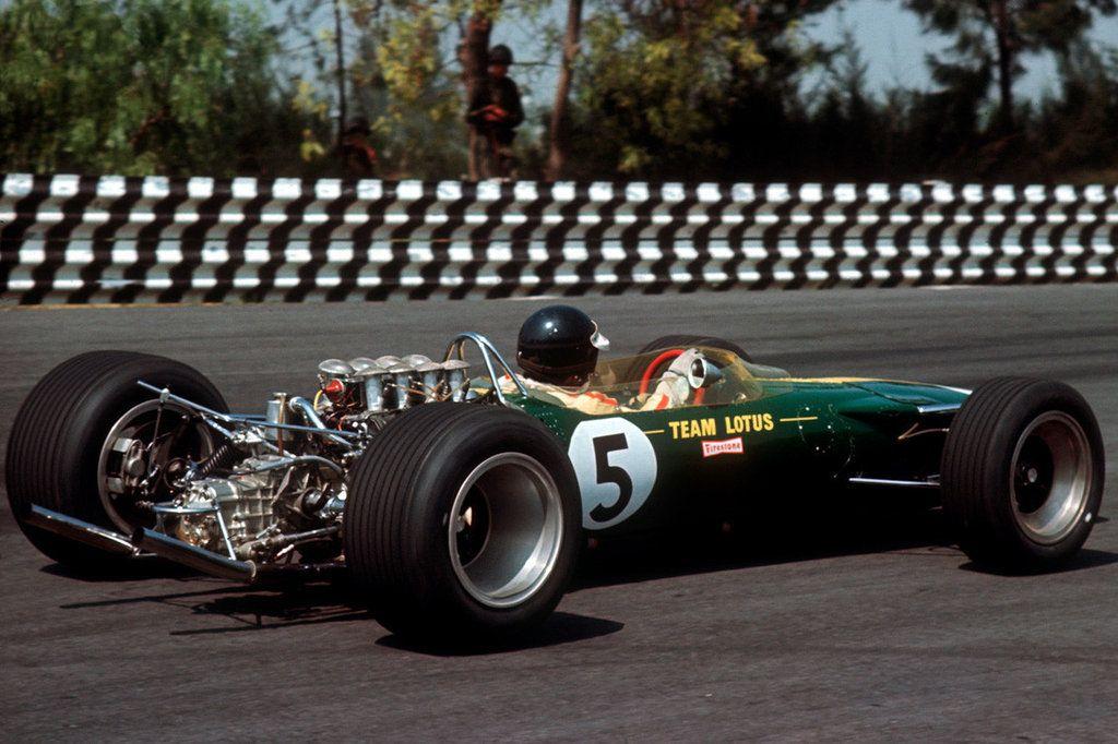 "James ""Jim"" Clark (GBR) (Team Lotus), Lotus 49 Ford"