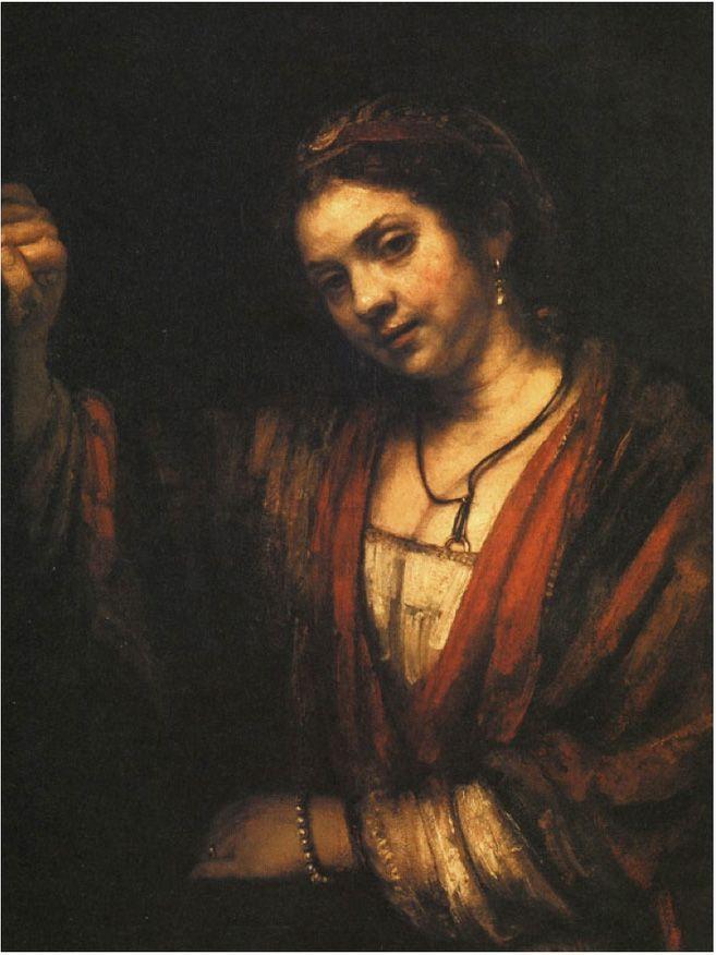 Rembrandt Hendrikje at an open door 1656  sc 1 st  Pinterest & Rembrandt: Hendrikje at an open door 1656   Art/Rembrandt van Jijn ...