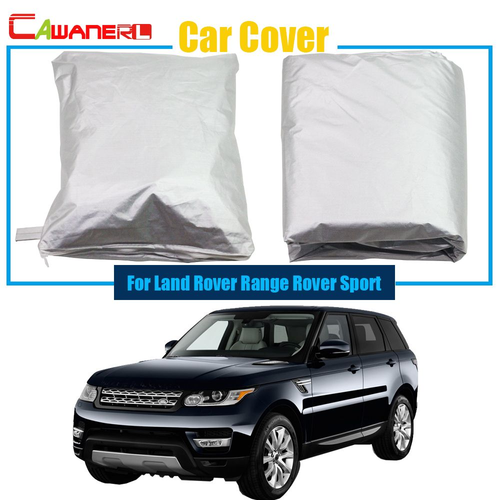 Cawanerl Full Car Cover Anti Uv Sun Snow Rain Resistant Protector Cover Dustproof For Land Rover Range Rover Sport Land Rover Car Covers Range Rover Sport