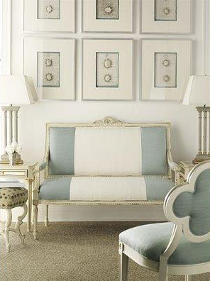 Exceptionnel French Inspired Living Room Decor   Living Rooms   Suzanne Kasler Quatrefoil  Chair, Living Room, French .