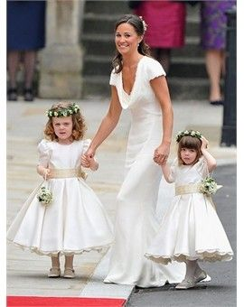 61d7c56c8e Fanciful Flower Girls ❀ dresses   hair accessories for the littlest wedding  attendant  -) royal