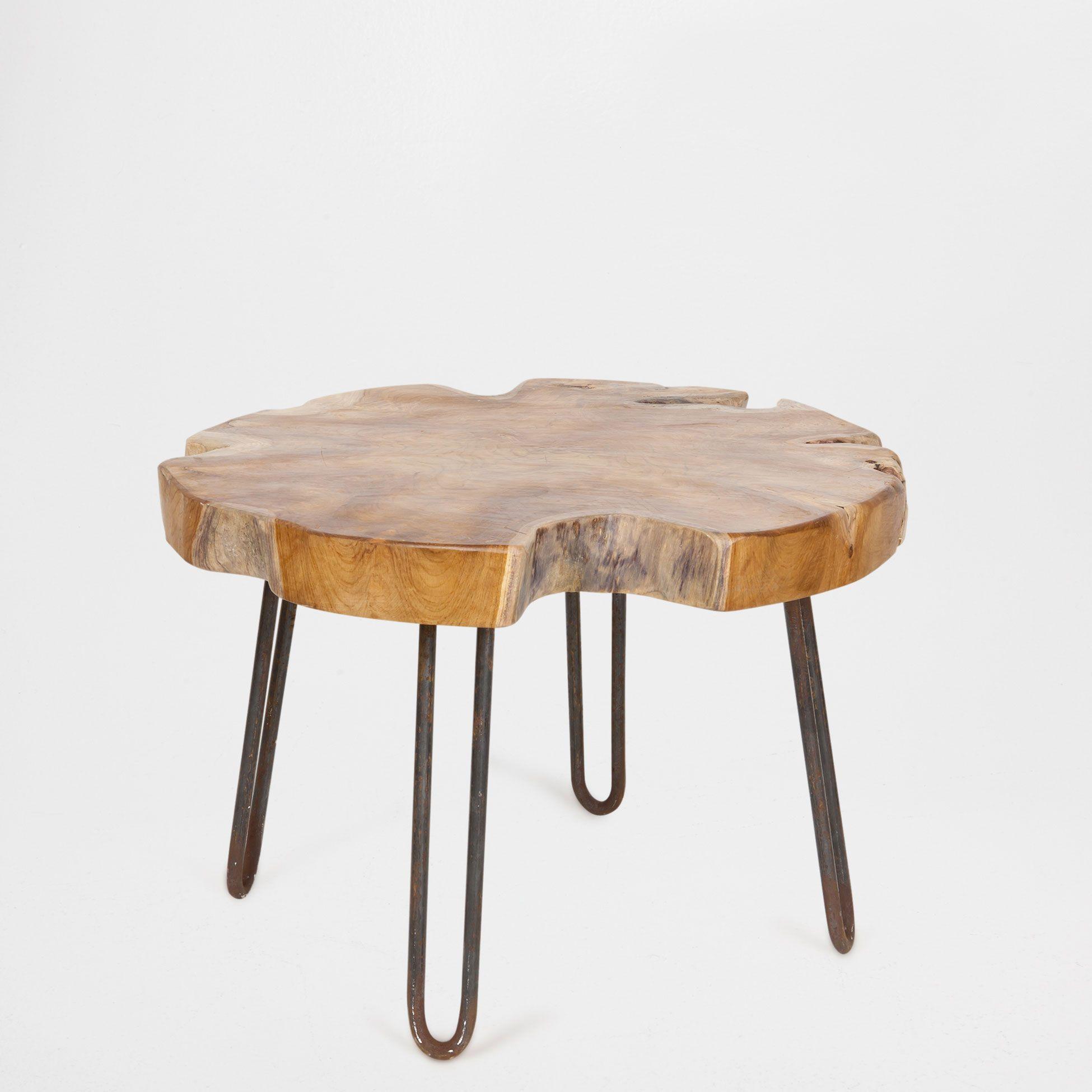 Zara Sofa Table: SMALL TRUNK-SHAPED WOODEN TABLE