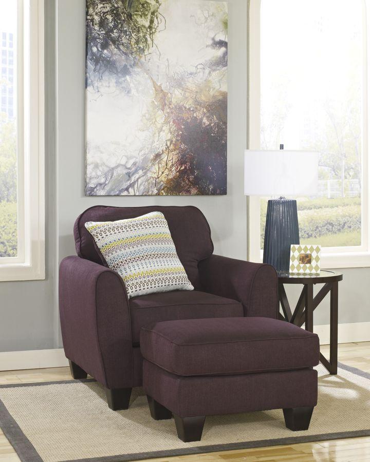 Prime Ean Eggplant Fabrics Chair And Ottoman Ottoman Sets Evergreenethics Interior Chair Design Evergreenethicsorg