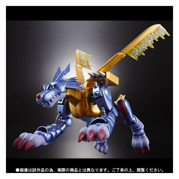 Digimon Adventure Metal Garurumon Figure D-Arts Bandai Anime from Japan
