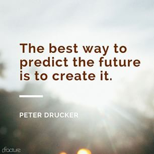 Start creating your future today!  #inspired #quotes #inspire