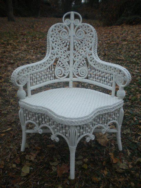 beautiful white wicker bedroom furniture | beautiful wicker chair | Crazy Chair Collection | Wicker ...