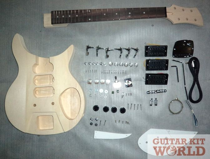 R325 Guitar Kit (Short Scale) - Guitar Kit World | BEAUTIFUL DIY ...