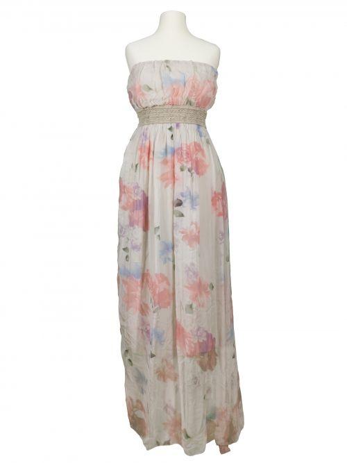 Damen Bandeau Kleid aus Seide, beige von Diana bei www ...