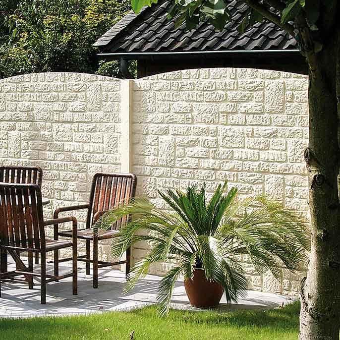 Betonzäune betonzäune sehen toll aus ein betonzaun ist stabil wie eine mauer