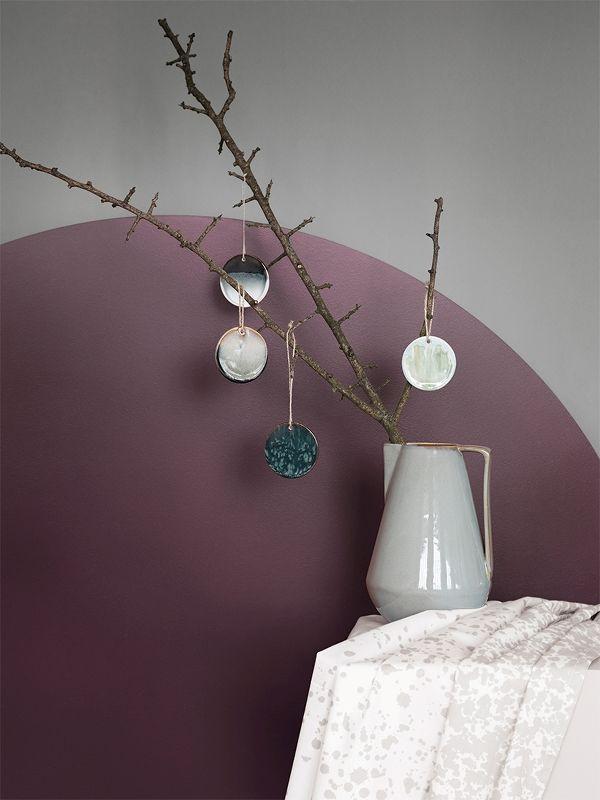 Ceramic Ornament - Blue 2