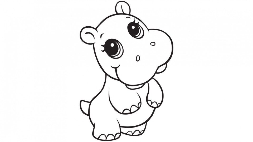 Understand The Background Of Hippo Coloring Pages Now Hippo Coloring Pages Zoo Animal Coloring Pages Animal Coloring Pages Mermaid Coloring Pages