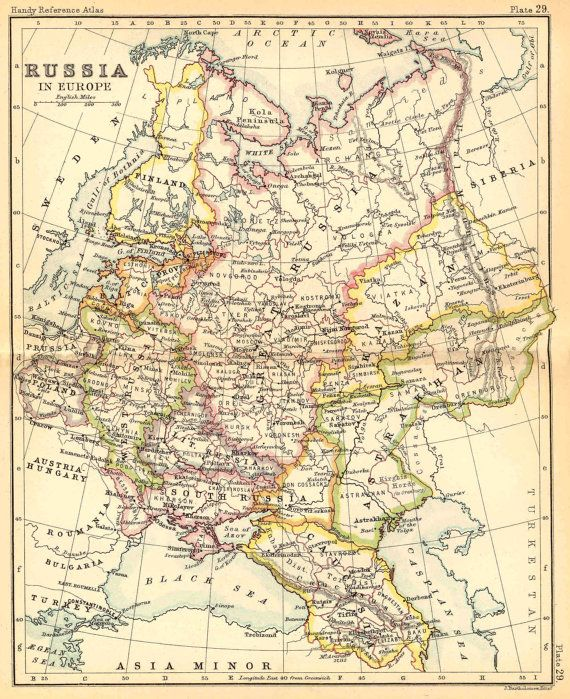 Map of the Russian Empire, Antique world map, Map, Old world map - new unique world map poster