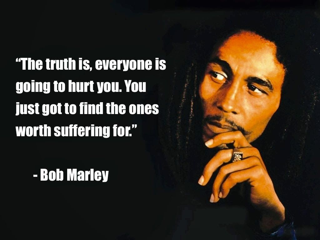 Bob Marley Quotes provides us a glimpse of his outlook towards life and music Description