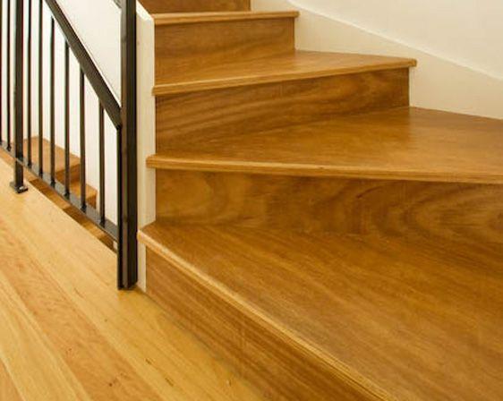 Engineered Stair Treads Coverings Hardwood Stairs Hardwood   Engineered Oak Stair Treads   Hardwood Flooring   Red Oak   Wood   Modern Retro   Plywood