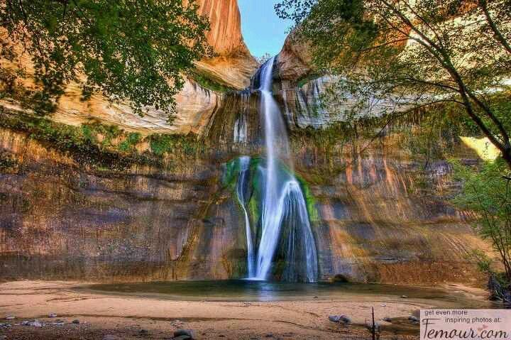 Oasis larry zimmer desert oasis waterfall travel dreams