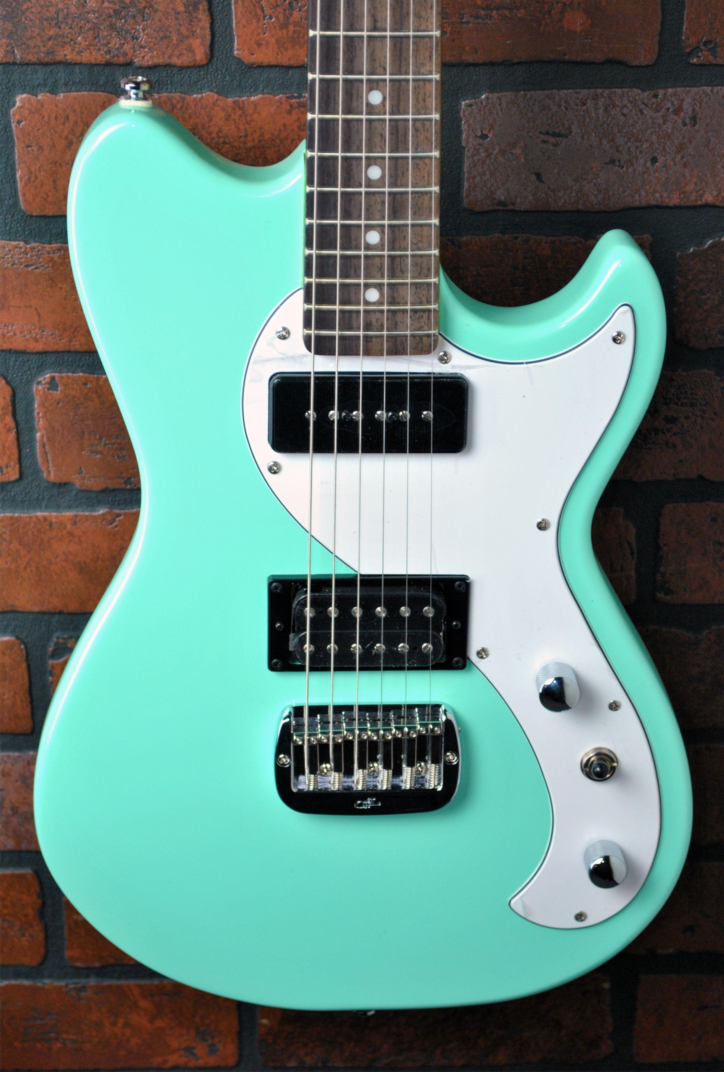 G&L USA Custom Built Fallout in Seafoam Green.