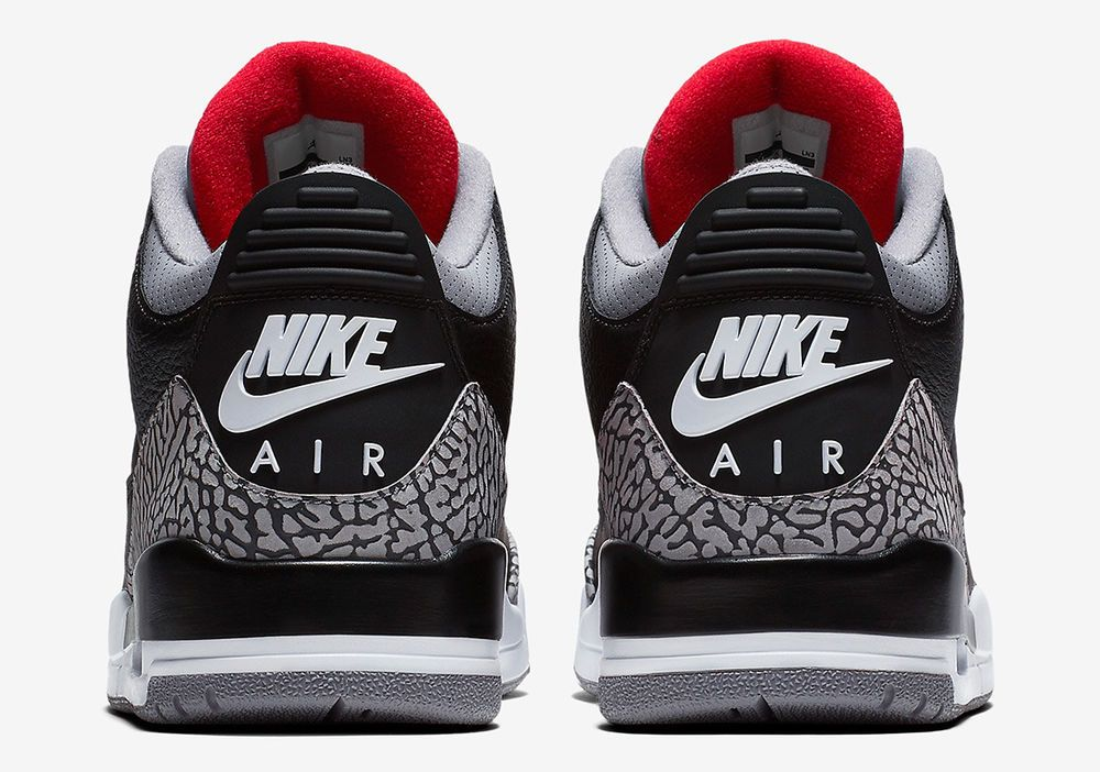166f133c7c76 AIR JORDAN RETRO 3 BLACK CEMENT 3.5Y-18 854262-001 SHIPS NEXT DAY