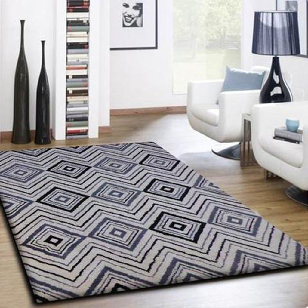 Black White And Grey Area Rugs Black Grey Rugs White Area Rug