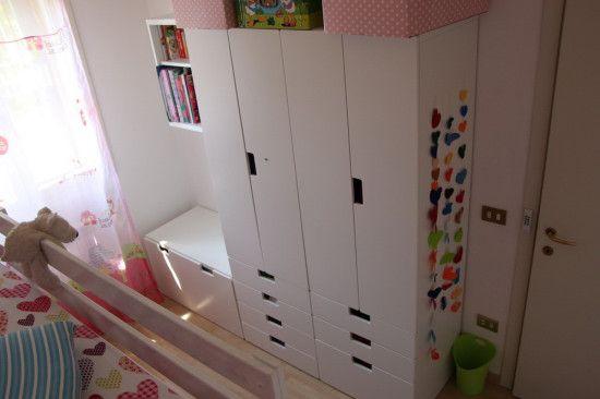 MYDAL Loftbed with play area for girl\'s room | Kinderzimmer