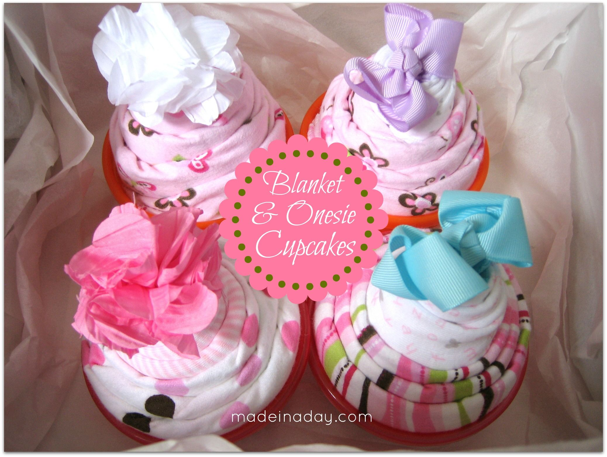 baby blanket  onesie cupcakes  onesie cupcakes, tutorials and, Baby shower invitation