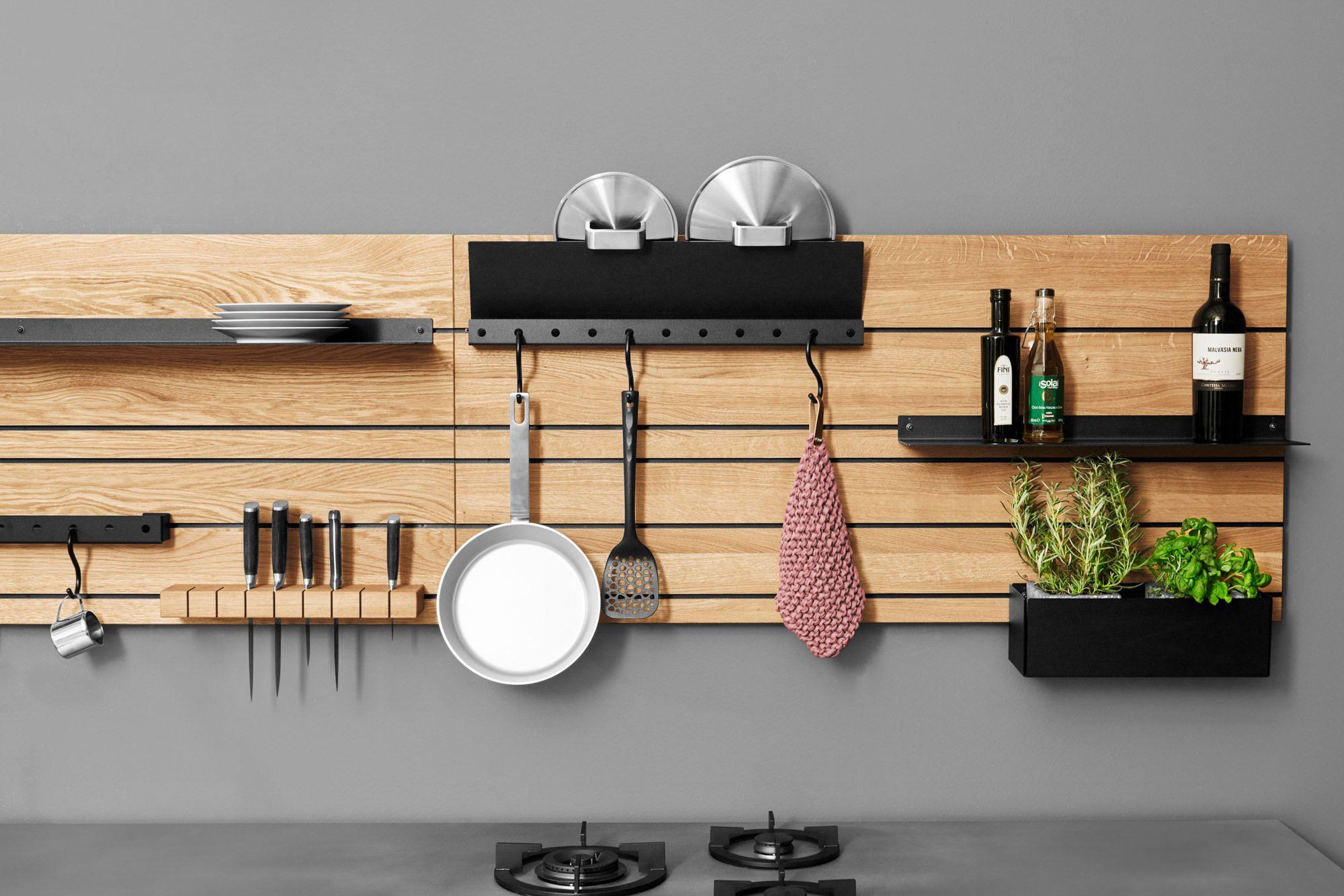 wandpaneel regal  ein regalsystem für die küche von jan
