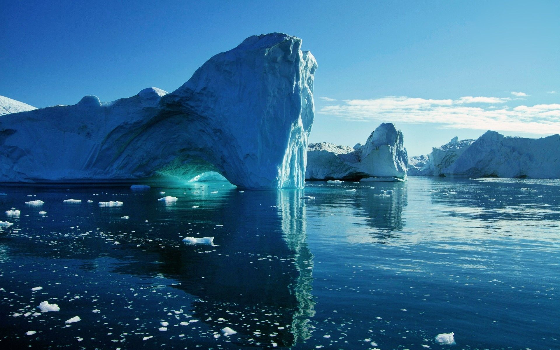 Melting Ice 1080p HD Wallpaper Nature