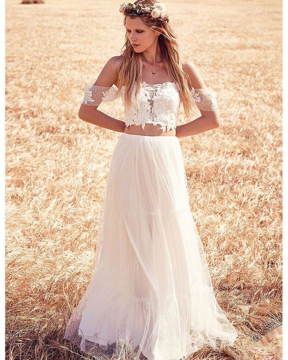 c7f4b1abbcb2 Perfect for an off-the-beaten-path affair, get whisked away once and for  all in this white satin and lace maxi set.