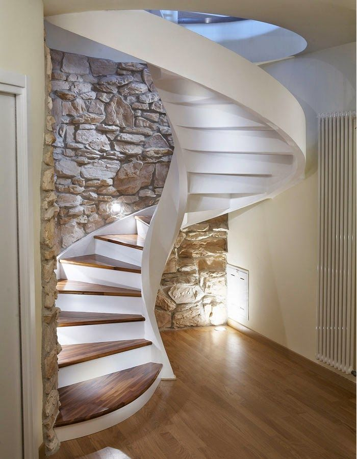 Spiral Stairs Designs In Reinforced Concrete Dubleks Merdiven