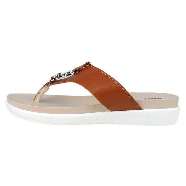 3acb3c9b0 Women s Fashion Platform Slipper Flip Flops Thong Sandal Flats ...