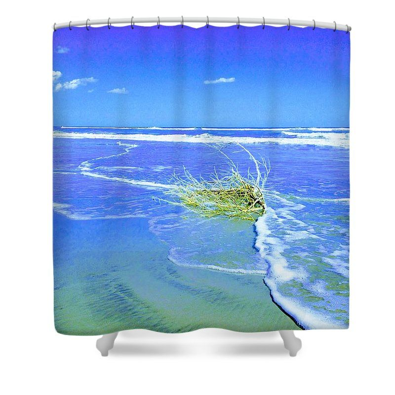 Purchase Surf Snuggle Shower Curtain By Sherry Kuhlkin