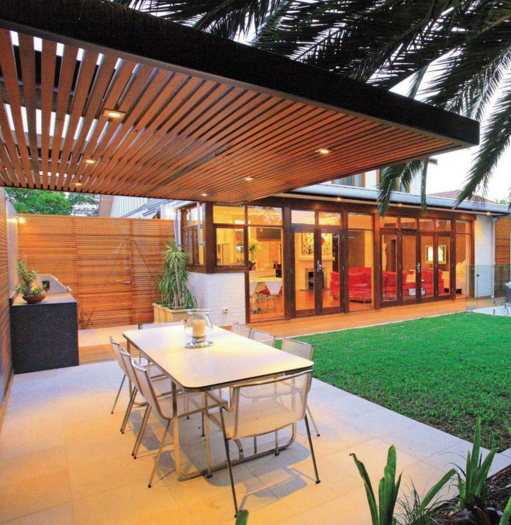 Modern Pergola More - 15 Modern And Contemporary Courtyard Gardens In The City OUTDOOR