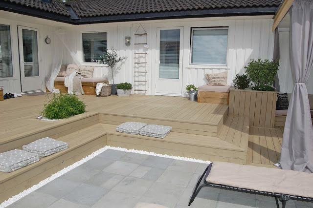 terrasse inspirasjon - Google Search Hageinspirasjon Pinterest ...