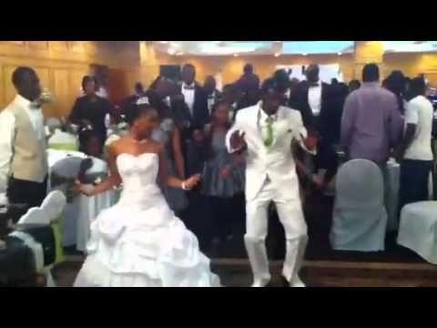 Wedding exit dance, we gotta have one!