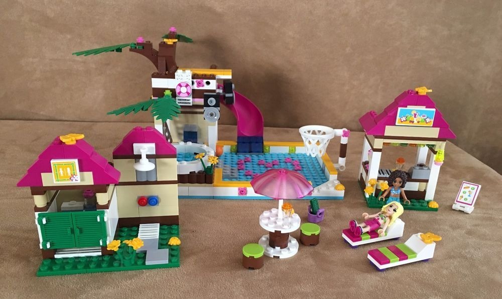 41008 Lego Complete Friends Heartlake City Pool Swimming Town
