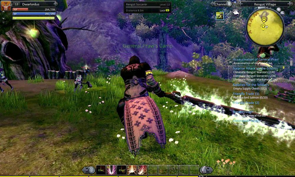 RaiderZ is a Free to Play, Action RolePlaying MMO Game