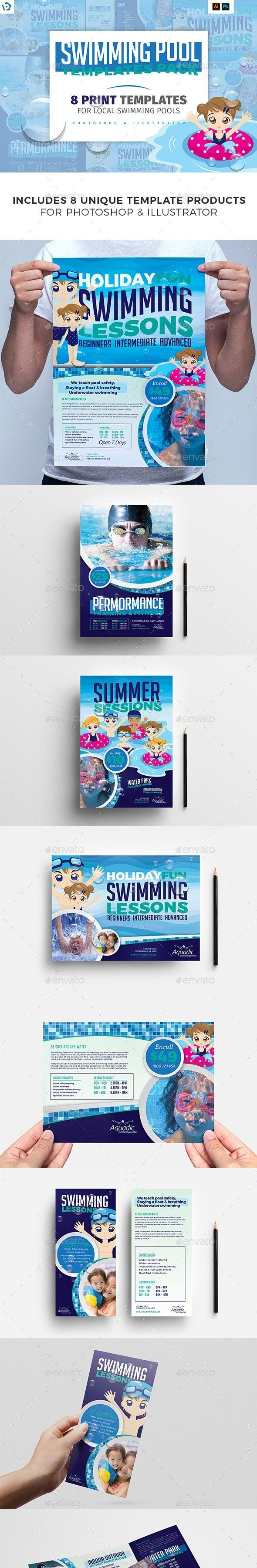Ai Banner Brandpacks Brochure Template Dl Flyer Illustractor