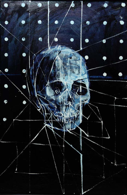 Damien Hirst Skull Oil Painting Damien Hirst Paintings Hirst Damien Hirst
