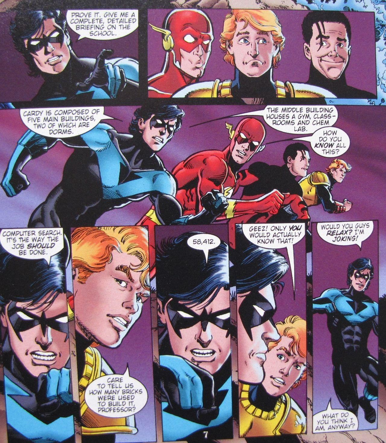Nightwing is turning into Batman