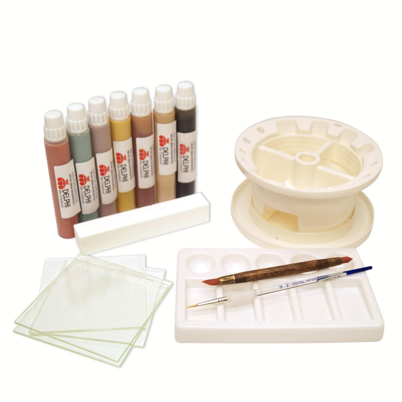Glass enameling beginner kit beginner kit glass kit