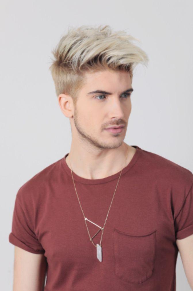 Pin By Jfox 16 On Joey Graceffa Dyed Hair Men Men Hair Color Platinum Blonde Hair