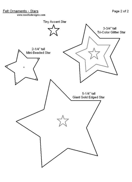 moldes estrellas navideñas en fieltro05 block quilt pinterest