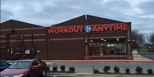 Town Center Marietta Georgia Anytime Fitness Gym Franchise Gym Workouts
